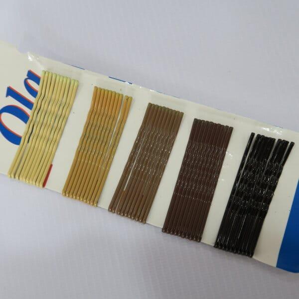 НАБОР НЕВИДИМОК (коричневые цвета) 50 шт
