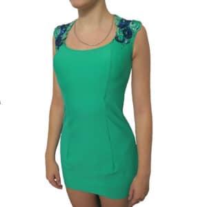 Платье Зеленый Блюз (рост 160-170 см)