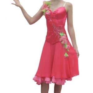 Платье розовое Вальс (рост 140-150 см)