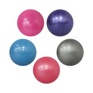 Мяч INDIGO Металлик с блестками 15 см